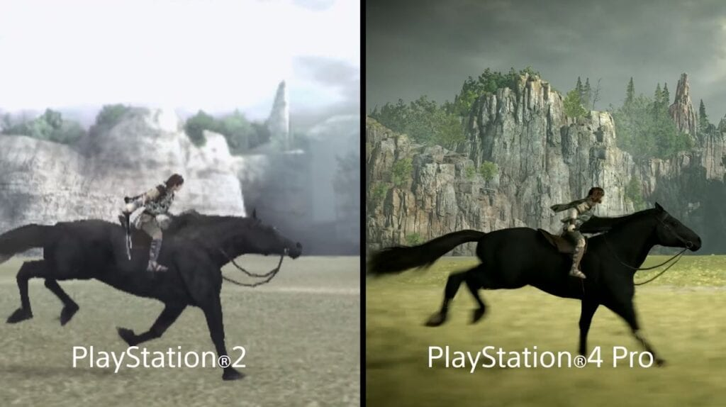 Shadow of the Colossus Graphics Comparison