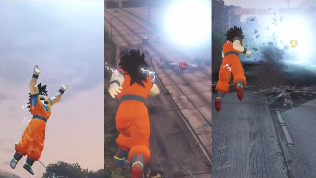 GTA 5 Goku Mod