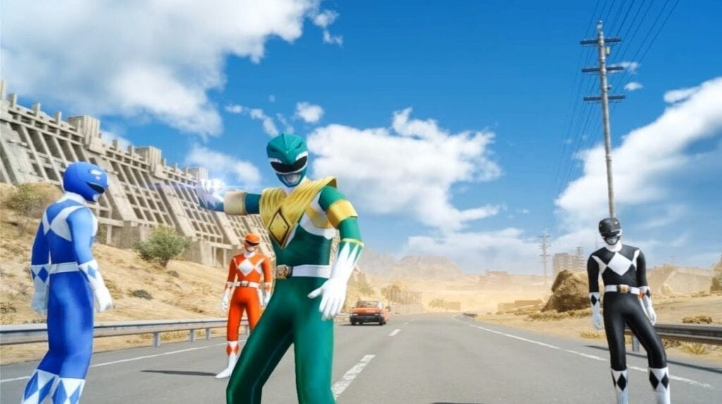 Final Fantasy XV Mod Pack Lets You Play As The Power Rangers (VIDEO)