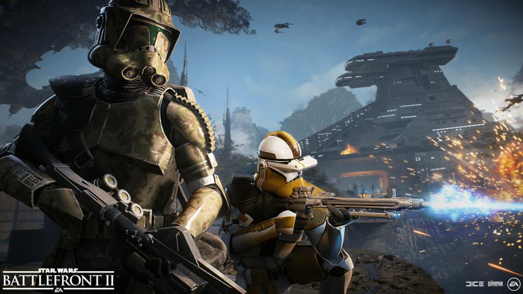 Star Wars Battlefront II Elite Corps