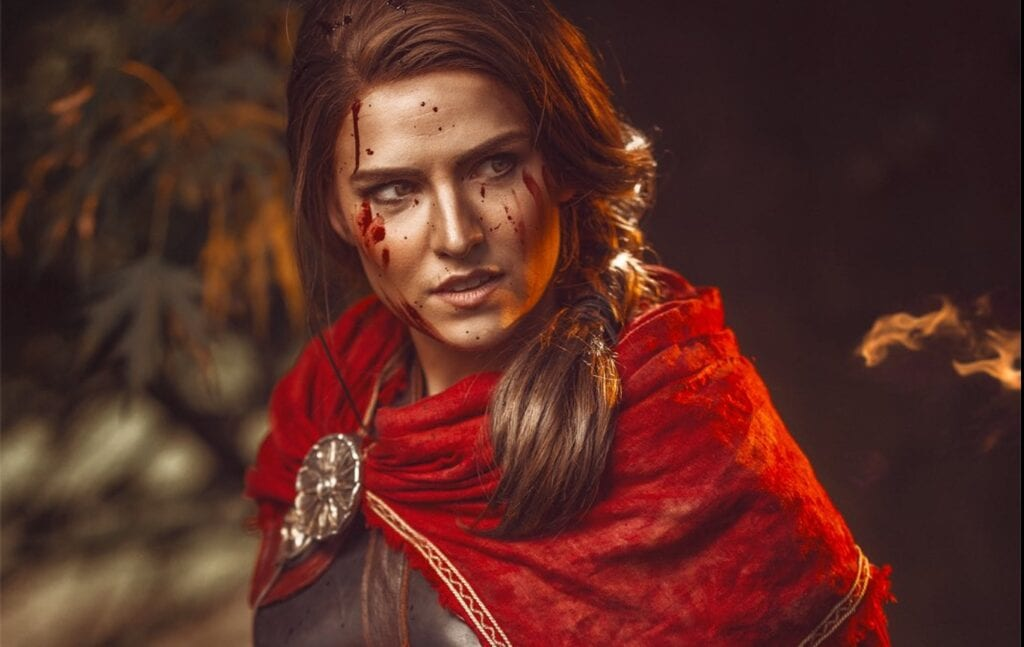 Kassandra cosplay