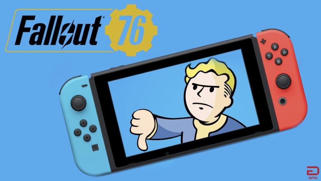 Fallout 76 Nintendo Switch