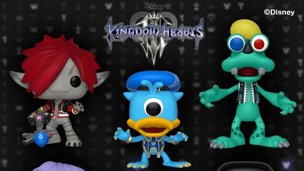 Kingdom Hearts 3 Funko Pop Figures Now Available For Pre-Order