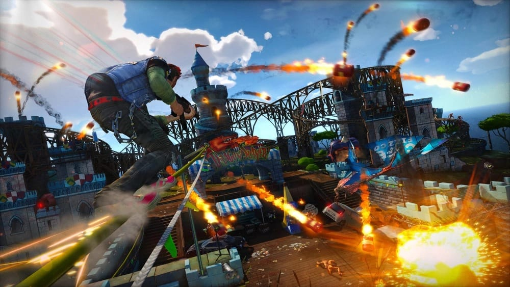 Sunset Overdrive PC Test Update Addresses Mouse Sensitivity, Gameplay Issues, And More