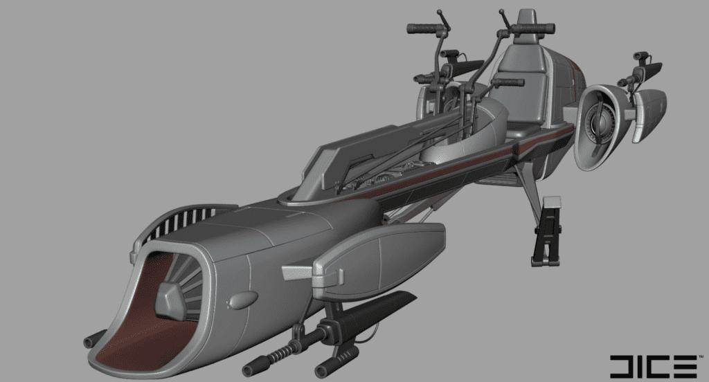 Star Wars Battlefront II BARC Speeder