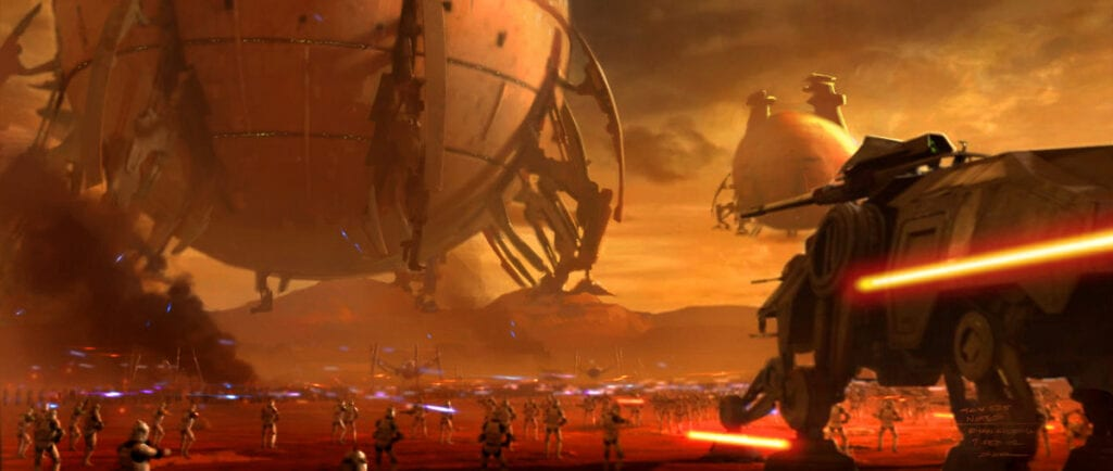Star Wars Battlefront II Vehicles Title Image
