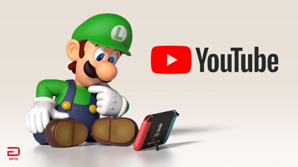 Nintendo Switch YouTube App Officially Goes Live
