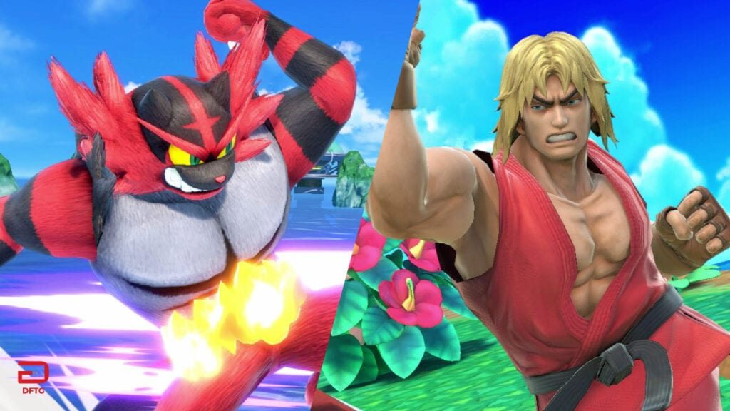 Super Smash Bros Ultimate Adds Ken And Incineroar To The Roster (VIDEO)