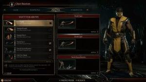 Mortal Kombat 11 Gear, Character Customization System Looks Sick (VIDEO)