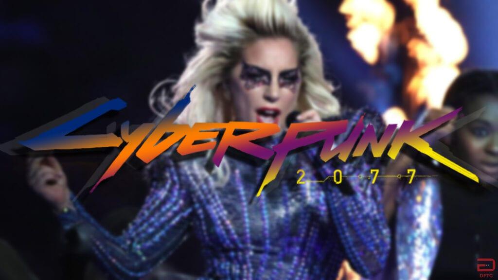 Lady Gaga Cyberpunk 2077