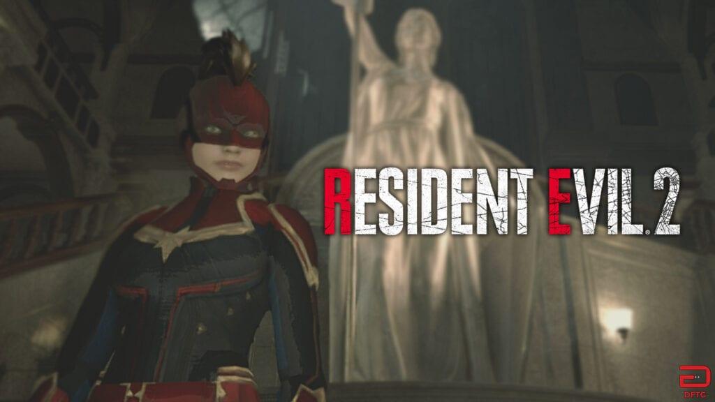 Resident Evil 2 Captain Marvel