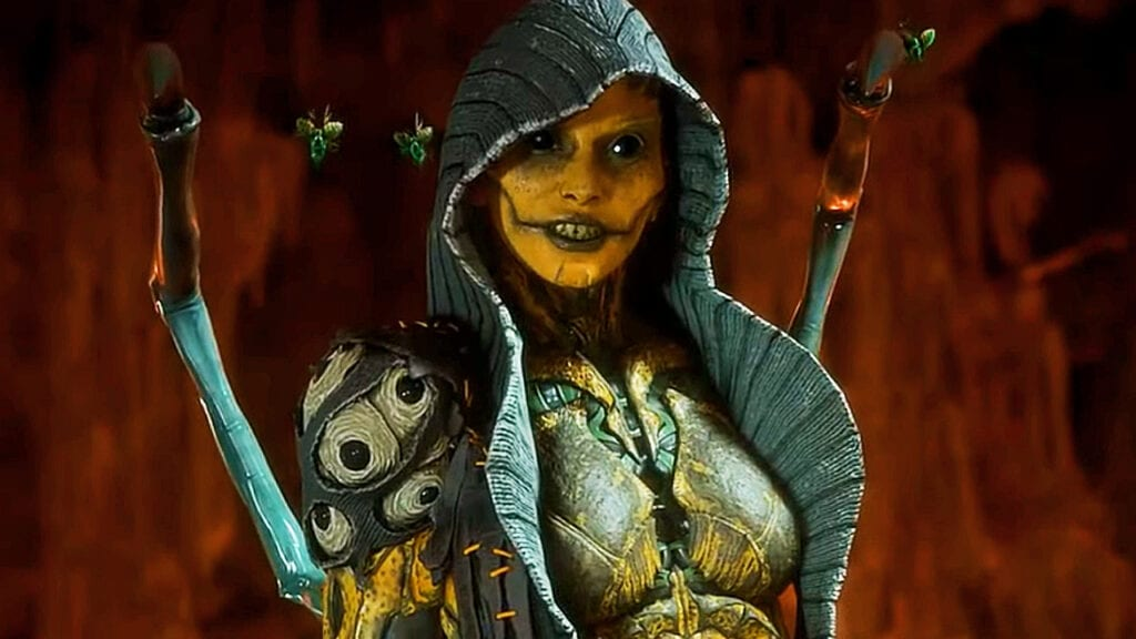 Mortal Kombat 11's D'Vorah Has A Seriously Messed Up Fatality (VIDEO)