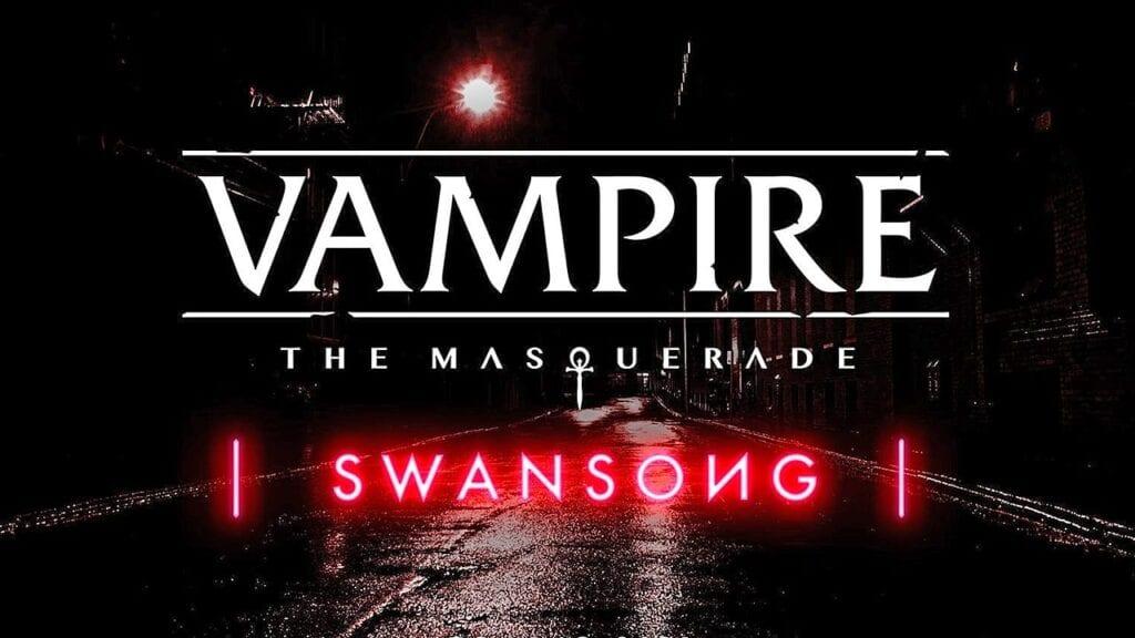 Vampire: The Masquerade - Swansong Narrative RPG Announced