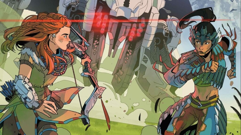 Horizon Zero Dawn Comic Book Series