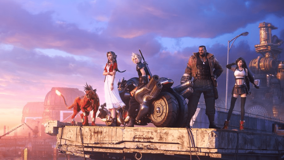 Final Fantasy VII Remake Gets A 2D Sprite Version Of Its Official Artwork