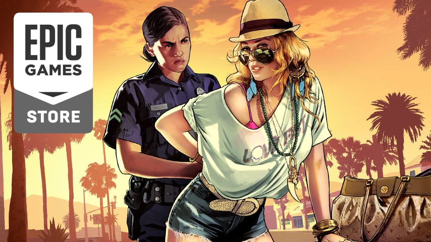 GTA V Is Now Available For Free On The Epic Games Store