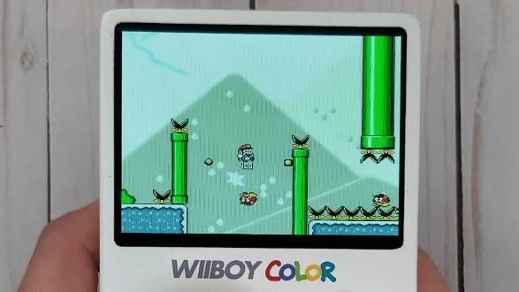 Nintendo Wii GameBoy Color Mod