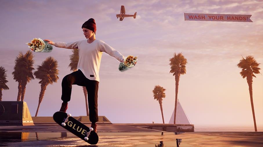 Tony Hawk's Pro Skater Chipotle