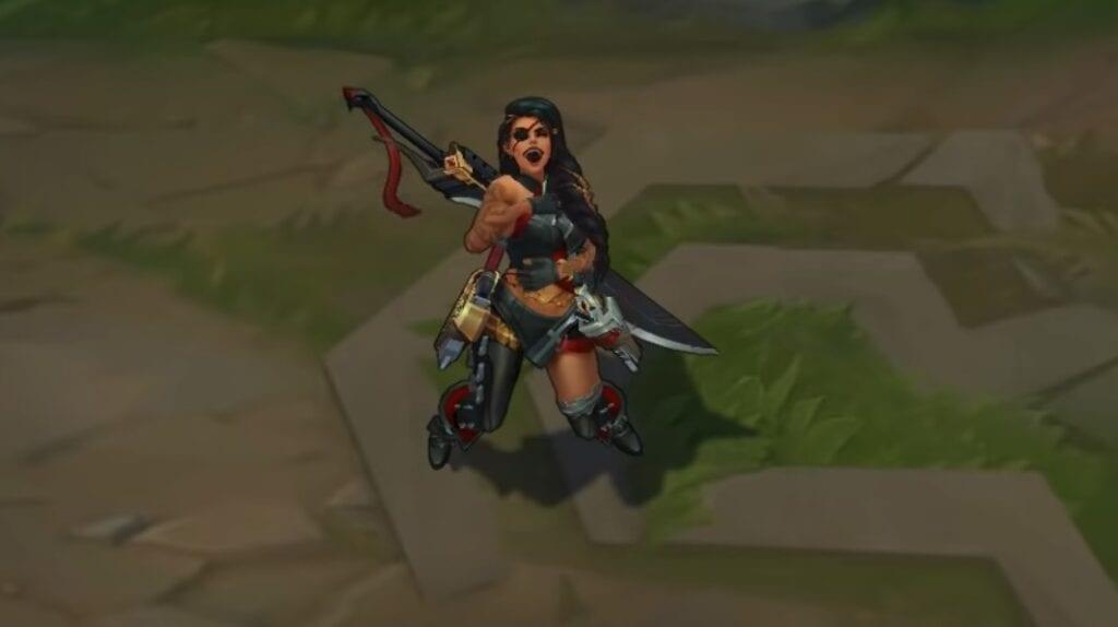 League of Legends Reveals Champion Samira's Full Kit