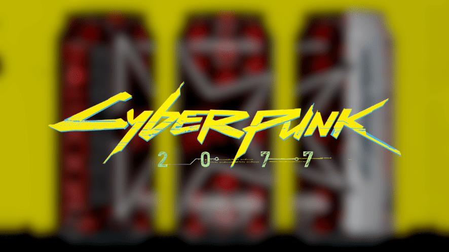 Cyberpunk 2077 Rockstar Energy Drink Samurai Cola