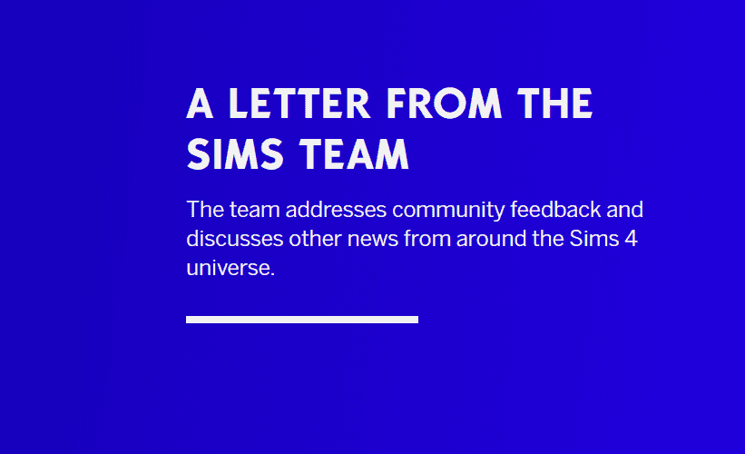The Sims 4 Team