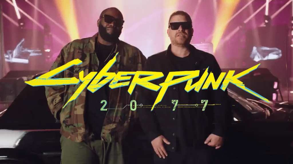 Cyberpunk 2077 x Run The Jewels