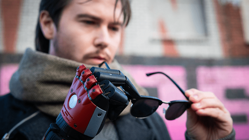 Metal Gear Solid Prosthetic Arm