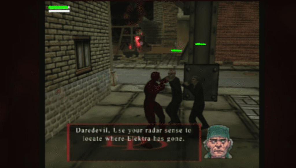 cancelled Daredevil game