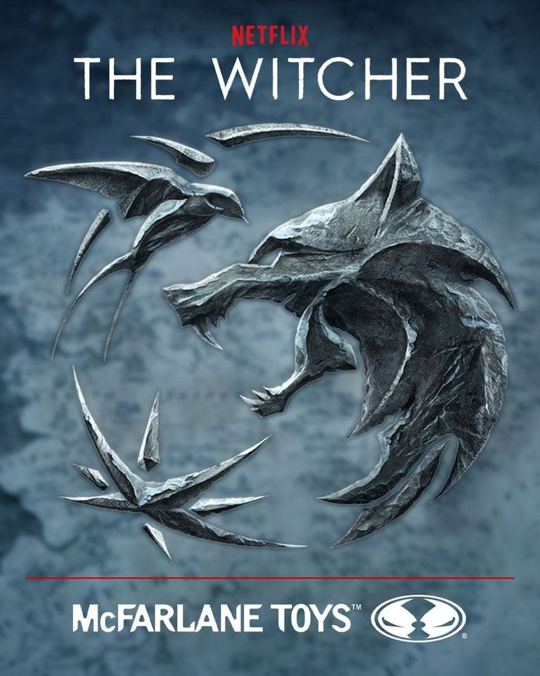Witcher Netflix action figures