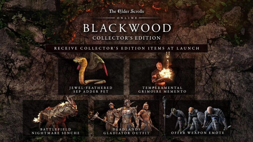 Elder Scrolls Online: Blackwood Editions