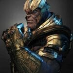 Thanos Bust statue
