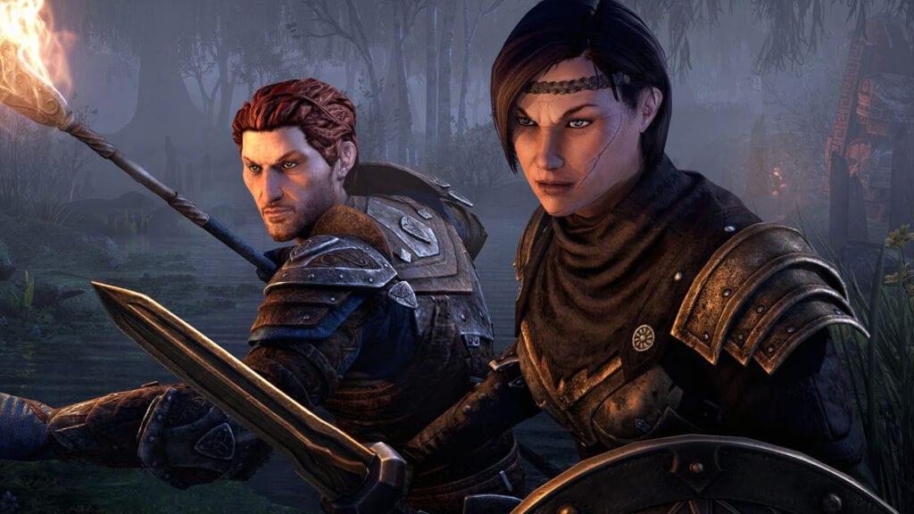 Elder Scrolls Online Companions Blackwood