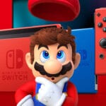 Nintendo Switch Red Blue Mario Special Edition