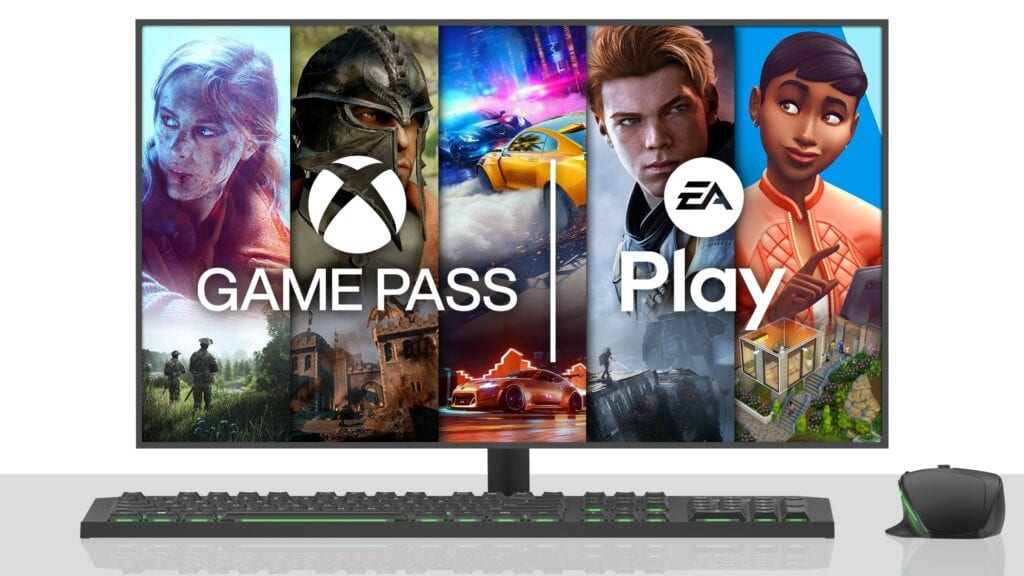 Ea Play Xbox game Pass For PC
