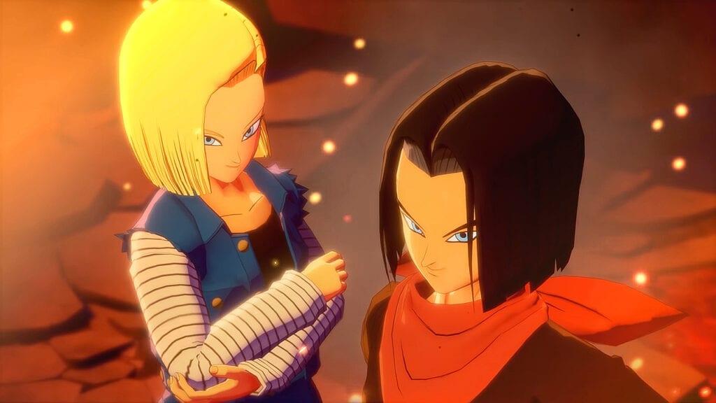 Dragon Ball Z: Kakarot Trunks Androids