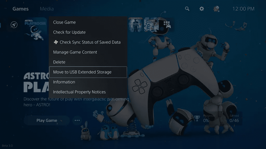 PlayStation 5 storage expansion and management