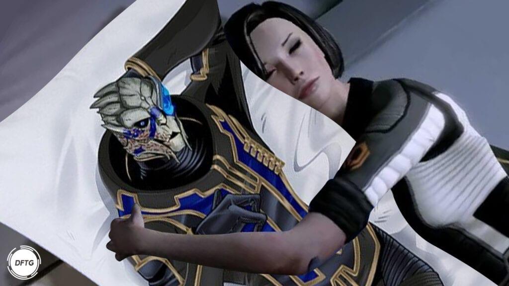 Garrus Body Pillow