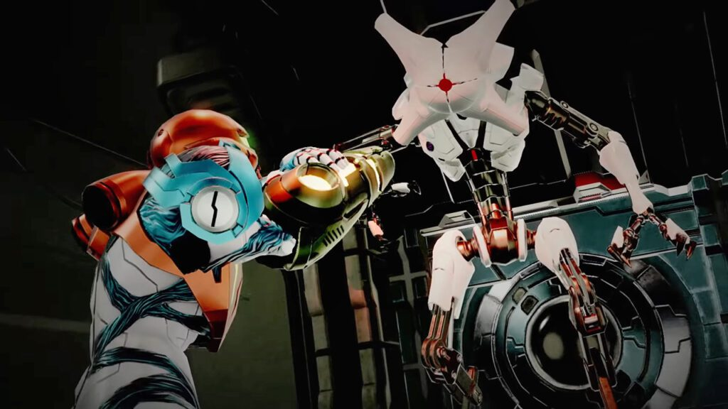 Metroid Dread EMMI robot