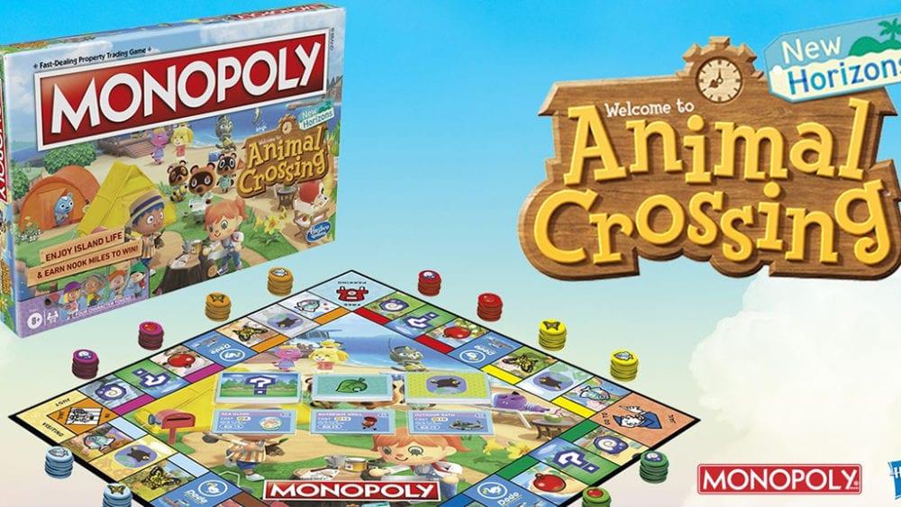 Animal Crossing: New Horizons Monopoly
