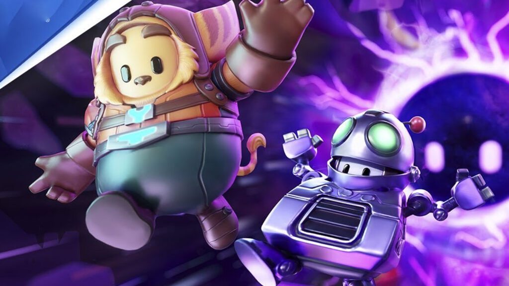 Fall Guys Ratchet and Clank