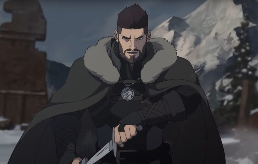 Witcher anime teaser