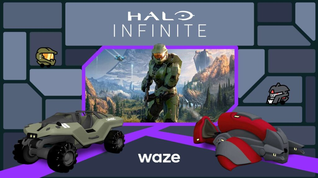 Master Chief And The Warthog Headline New Halo-Themed Waze Content