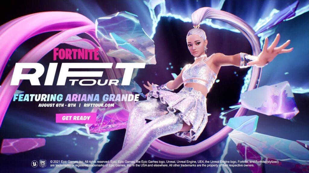 Fortnite Rift Tour Announced Featuring Ariana Grande (VIDEO)