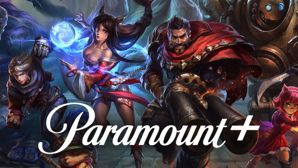 League of Legends eSports Paramount Plus