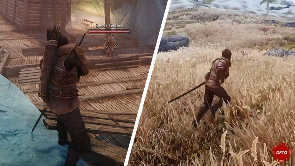Skyrim Mod True Directional Movement- Modernized Third Person Combat