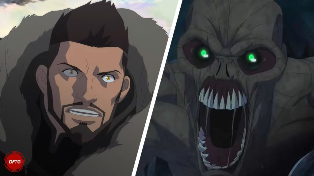 The Witcher: Nightmare Of The Wolf Anime