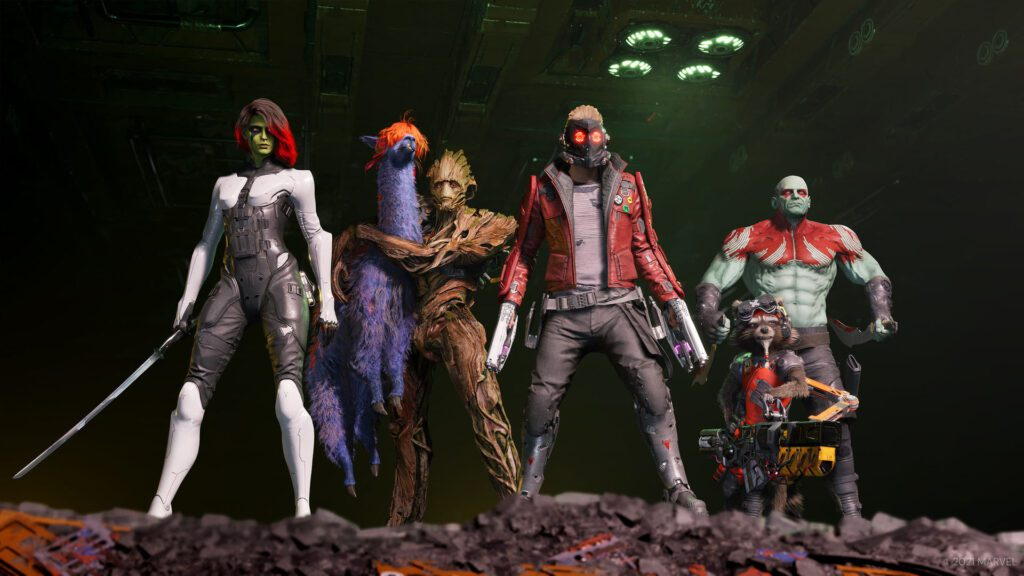 Guardians of the Galaxy Story trailer