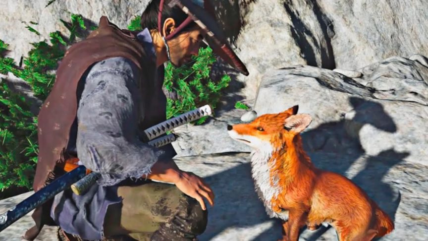 New Ghost Of Tsushima Update Makes The Foxes Even More Adorable