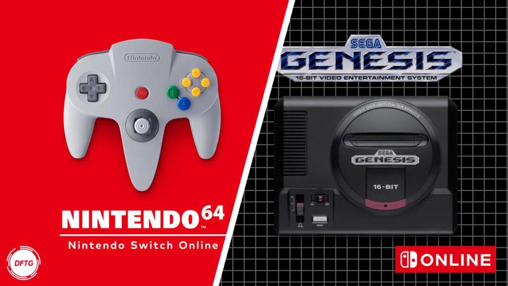Nintendo Switch Online N64 SEGA Genesis