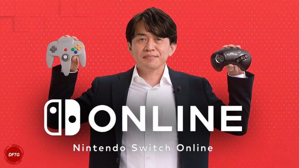 Nintendo Switch Online N64 SEGA Genesis Controllers